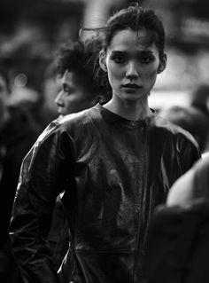 Tao Okamoto by Peter Lindbergh for Vogue Italia October 2016