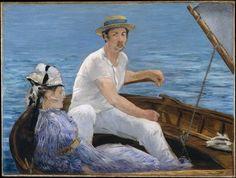 Canotage, Édouard Manet (1832-1883 Paris).