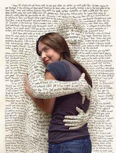 Books love me, and I love them