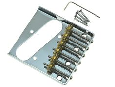 Dopro Chrome Vintage Ashtray Style Tele Electric Guitar Bridge with 6 Brass Saddles Fits TL Guitars-in Guitar Parts & Accessories from Sports & Entertainment on Aliexpress.com   Alibaba Group