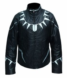 """He is a superhero, and he is the king of Wakanda. This costume was worn by Black Panther """"Chadwick Boseman"""" in Hollywood famous comic movie """"Captain America: Civil War"""" 2016. This custom jacket is made..."""