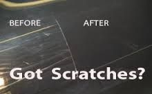 How to fix a scratch on your car from Deanna Sclar - author or Auto Repair for Dummies - how to get the code for an exact paint code number from the car's firewall-the area separating the inside of the car from the hood - be sure to de-rust using something like Scratch X , then a sandpaper and primer. More details at link. weekend project that helps your car look better before selling - how to make your car last longer and look better