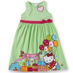 Ich bin kein HELLO KITTY Fan, aber das Kleidchen ist süß...