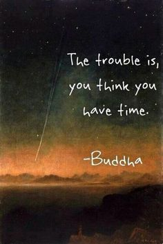 you have time....?