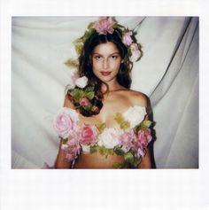 Laetitia Casta for Yves Saint Laurent Haute Couture, S/S 1999.