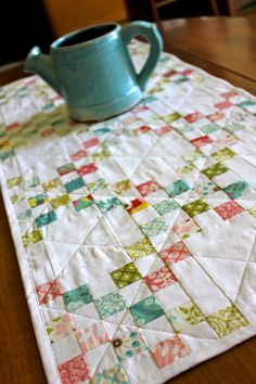 Double Irish Chain Hello Luscious Fabric by Strawberry Field Quilts
