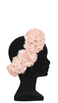 Semicorona con rosas