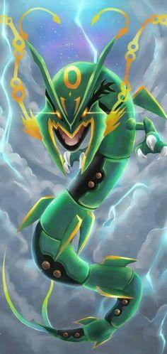 Ruler of the sky, Mega Rayquaza - Pokemon ~ DarksideAnime Pokemon Backgrounds, Cool Pokemon Wallpapers, Cute Pokemon Wallpaper, Animes Wallpapers, Iphone Backgrounds, Rayquaza Pokemon, Mega Rayquaza, Lugia, Pokemon Pokemon