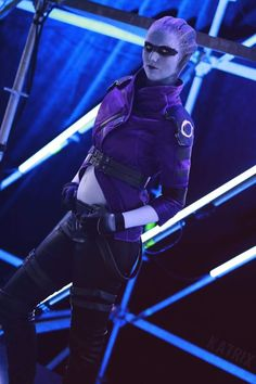 Cosplayer: Karin Olava Effects. Country: Norway. Cosplay: Peebee from Mass Effect Andromeda. Photo by: Katrix Media Site.