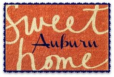 "Wish Garnet Hill still offered this  ""Sweet Home"" doormat...because I would totally customize that sucker!"