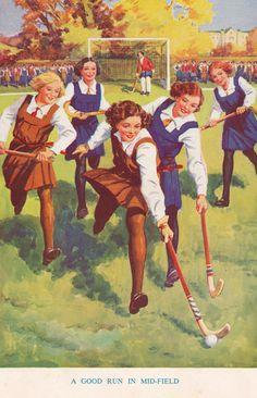 jolly hockey sticks