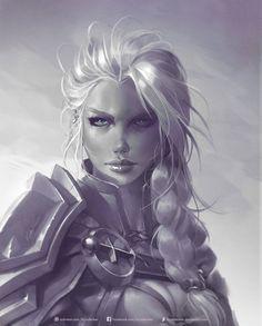 Fantasy Girl, 3d Fantasy, Fantasy Women, Fantasy Artwork, Final Fantasy, Fantasy Warrior, Fantasy Character Design, Character Design Inspiration, Character Art
