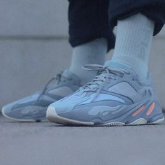"a877e528bc824 An on-foot look at the adidas Yeezy Boost 700 ""Inertia"" shows just"