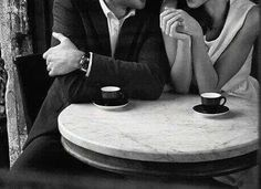 """""And now……it's coffee time! Coffee Girl, I Love Coffee, Coffee Cafe, Coffee Shop, Tea Cafe, Film Noir Photography, Coffee House Decor, Black And White Coffee, You Are Home"
