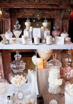Dessert bars, elegant candy buffet, sister wedding, our wedding, wedding be Lolly Buffet, Dessert Buffet, Dessert Bars, Candy Bar Wedding, Diy Wedding Favors, Wedding Decorations, Wedding Ideas, Candy Table, Candy Buffet