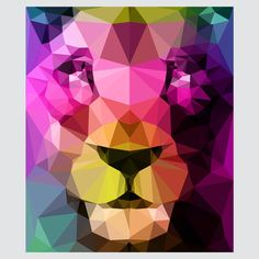 Wild Neon 01a. #Print by Three Of The Possessed