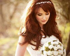 Pretty Wedding Tiaras for Your Hair Down