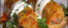 Recept Golubce se zakysanou smetanou Turkey, Meat, Chicken, Turkey Country, Cubs