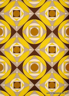 Vintage Wallpapers (50) by www.cityzine.be, via Flickr