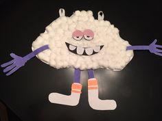 """DIY cloud guy trolls Birthday party decorations! """"So Easy!"""""""