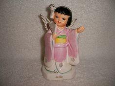 Fine Quality Vintage International JAPAN Geisha Angel | #117307243
