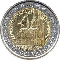 2 euro Vaticano commemorativo dal 2004 al 2019 Vatican Vatikan serie completa Euro Coins, Commemorative Coins, World Coins, Coin Collecting, Ancient Art, Archaeology, Bronze, Ebay, Vatican City