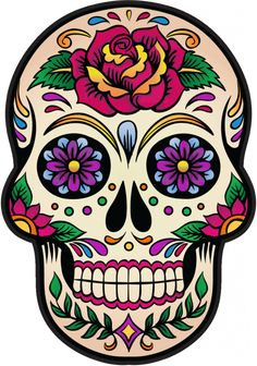 La Calavera Catrina Mexico Skull And Crossbones Day Of The Dead PNG - art, bone, calavera, culture, day of the dead Mexican Skull Tattoos, Mexican Skulls, Mexican Art, Candy Skulls, Sugar Skulls, Sugar Skull Images, Caveira Mexicana Tattoo, Sugar Skull Painting, Sugar Skull Artwork