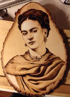 another terrific example of pyro from Suzy Roach. Wood Burning Crafts, Wood Burning Patterns, Wood Burning Art, Wood Crafts, Photo On Wood, Picture On Wood, Coffee Painting, Painting On Wood, Wood Burn Designs