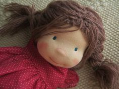 Waldorf Puppe benutzerdefinierte Puppe Waldorf inspiriert von bemka