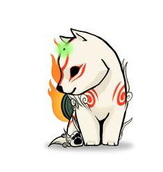 CÓMIC KATSUDEKU - Katsudeku shota 1/3 - Wattpad Amaterasu, Anime Animals, Cute Animals, Character Art, Character Design, Art Mignon, Fox Drawing, Japanese Mythology, Pinturas Disney