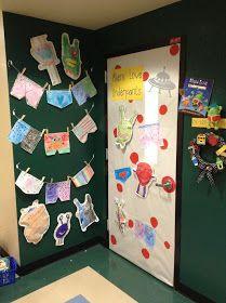 Mrs. Gilchrist's Class: Children's Book Week - Door Decorating
