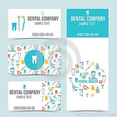 Sistema de tarjetas de visita dentales