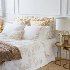 EMBROIDERED EGYPTIAN PERCALE BED LINEN - Bed Linen - Bedroom | Zara Home United Kingdom
