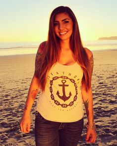 We are now selling the new women's anchor tank puffball beanies women's black logo tanks and additional sizes for our most popular items! Don't forget the deepsea discount code! 20% off!! #diver #deepsea #anchors #chains #sailors #pirates #beach #freedive #wreckdive #techdive #padi #scuba by 15_fathoms