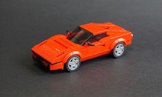 You don't need many red bricks to build a beautiful Italian car