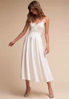 BHLDN Havana Corset Top & Jordan Skirt A-Line Wedding Dress