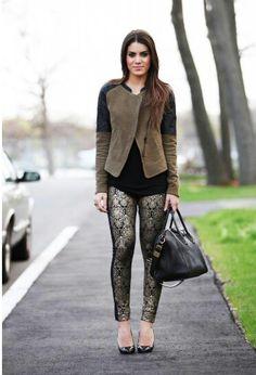Love the jacket. Look by Camila Coelho