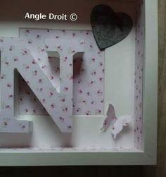 Laurence JUDON- Cadeau naissance-3- ANGLE DROIT Angles, Laurence, Bathroom Hooks, Picture Frame