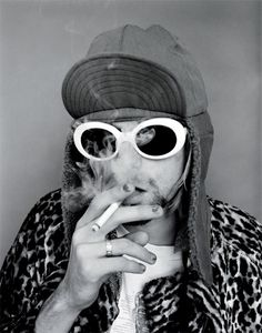 Kurt Cobain in 1993 by Jesse Frohman; Shot before MTV Unplugged session with Nirvana at the Omni Hotel in NYC