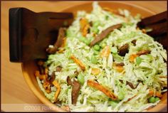 Edamame Cabbage Slaw with Sweet Potatoes