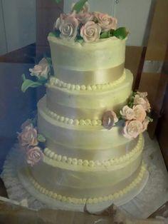 Wedding cake I had to fix