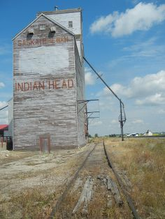 Grain Elevator - Indian Head, Sk by mile105, via Flickr Old Buildings, Abandoned Buildings, Abandoned Places, Abandoned Vehicles, Farm Humor, Agriculture, Grain Storage, Canadian Prairies, Grain Silo