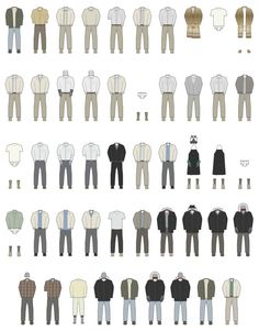 Walter White's Outfits. Season 5b