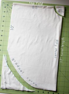 Circle Shirt Tutorial