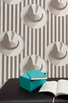 7. Elitis' Panama wallpaper. Look close it's beaded wallpaper on a non woven backing #organizedliving and #springcloset