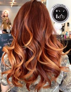 12 Gorgeous Caramel Hair Color Ideas You Need to Try Faszinierende Karamell-Haarfarbe Ginger Hair Color, Hair Color Caramel, Ombre Hair Color, Hair Color Balayage, Cool Hair Color, Caramel Ombre, Ginger Ombre, Blonde Balayage, Auburn Balayage