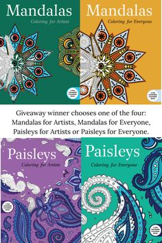Coloring books for Adults Adult Coloring, Coloring Books, Paisley Color, Giveaways, Stress, Therapy, Spirit, Change, Adult Colouring In