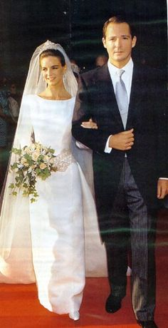 Wedding of Prince Konstantin-Assan of Bulgaria, Prince of Vidin and Princess Maria, Princess of Vidin, née Maria Garcia de la Rasilla y Gortázar, July 7, 1994
