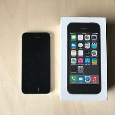 Apple iPhone 5s - 16GB - Space Gray (AT&T) Smartphone  885909727445 | eBay