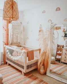 Babyletto specializes in safe and stylish convertible cribs, gliders, dressers, bedding and mattresses for baby. Baby Bedroom, Baby Boy Rooms, Baby Room Decor, Baby Cribs, Baby Girl Nursery Decor, Baby Girl Nurseries, Unisex Nursery Ideas, Neutral Baby Rooms, Vintage Nursery Girl